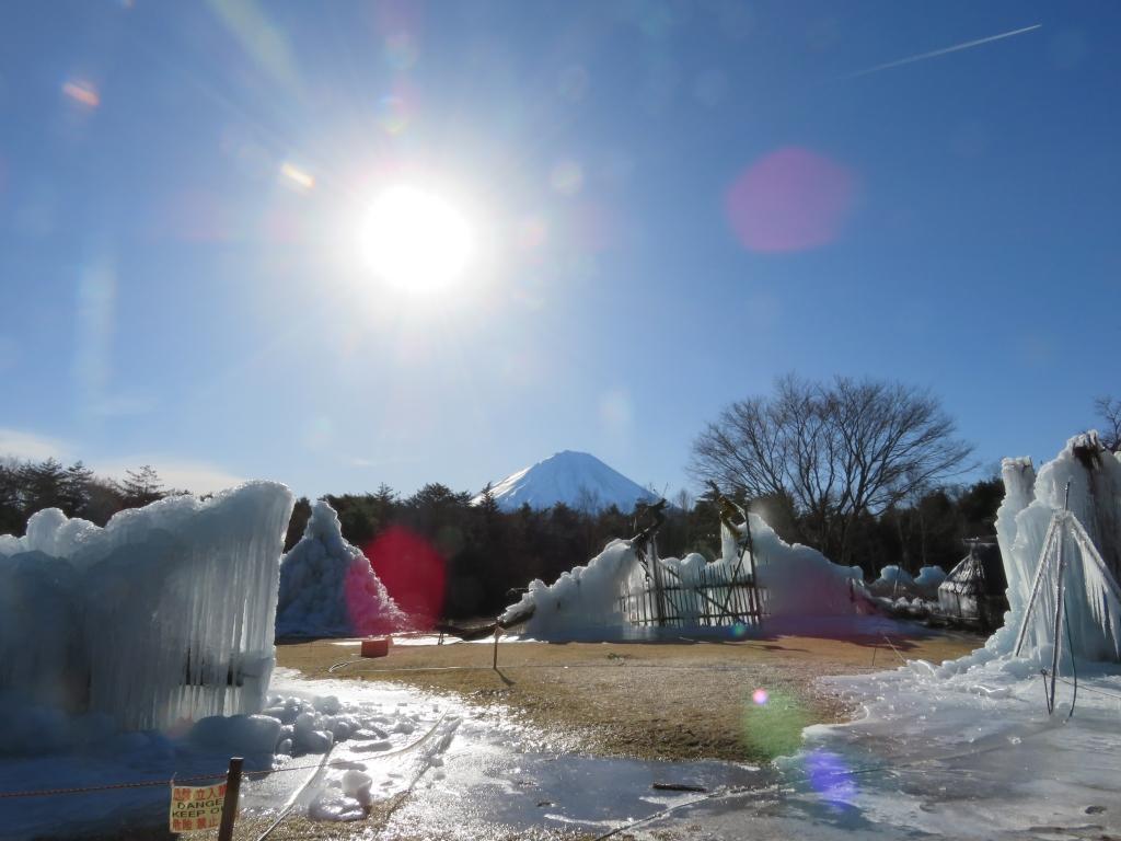 西湖樹氷祭り2