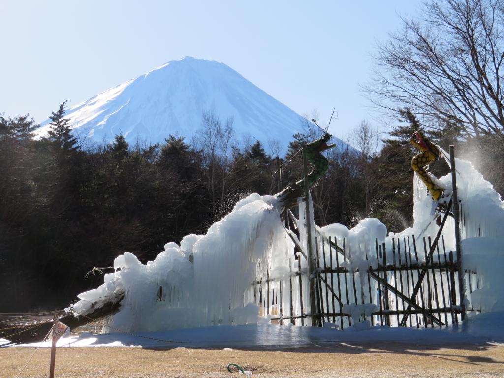 西湖樹氷祭り3