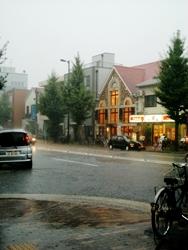 大雨ずぶぬれ