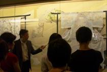 古代友禅苑1階は美術館