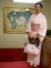 歌舞伎座の青獅子さんと