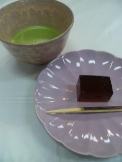 菊水鉾のお茶席