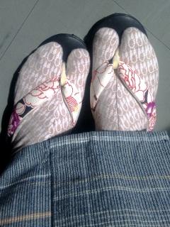 「室町はさみ」の足袋