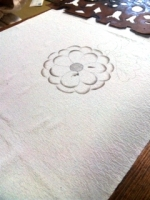辻が花の描き絵