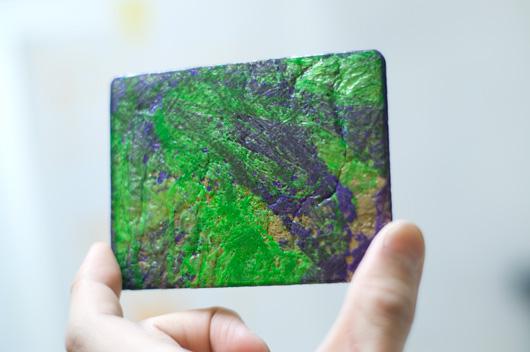 PE FLAT CARD HOLDER