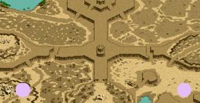 砂漠の疾走