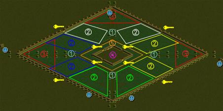 デフヒルズ古代遺跡MAP