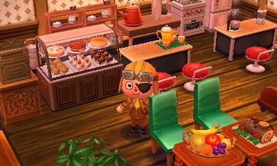 どうぶつ 森 とびだせ 喫茶店 の