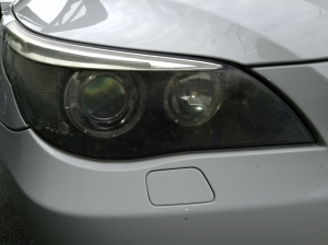 BMWヘッドライトの黄ばみ