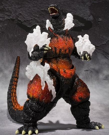 S.H.MonsterArts ゴジラ(1995) Ultimate Burning Ver.
