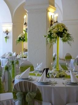 結婚披露宴 テーブル使用花器