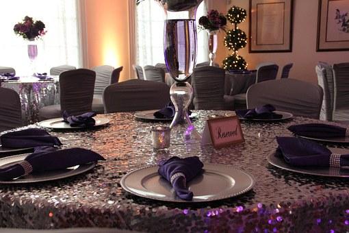 結婚披露宴 テーブルクロス