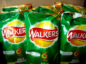 WALKER'S Salt'n Vinegar