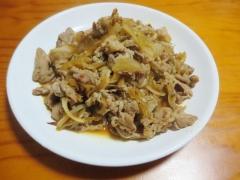 豚肉の生姜炒め