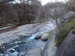 七ッ岩吊橋からの眺望