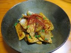 豚肉と大根のバタポン炒め
