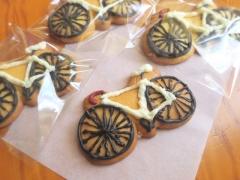 自転車クッキー