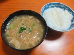 もやしスープ、ご飯