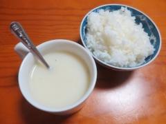 カップスープ、ご飯