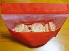 母の日の絞り出し薔薇クッキー