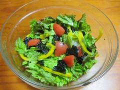 レタス海苔サラダ