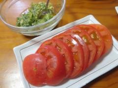 ネバネバ&トマトスライス