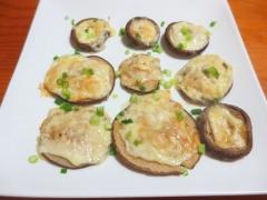 椎茸チーズ焼き