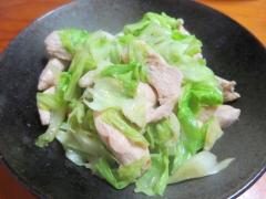 鶏キャベツ炒め