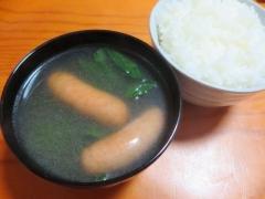 スープ、ご飯