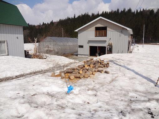 4月23日の雪状態