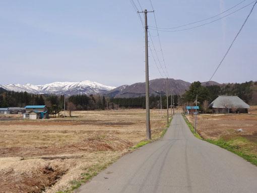 清吉稲荷と和賀岳