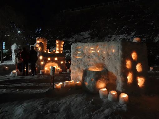 雪明かり盛岡