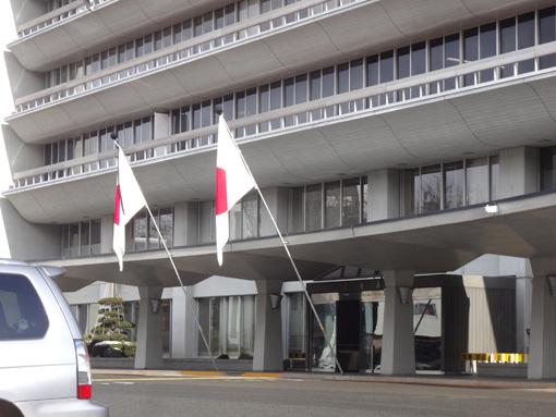 3.11の県庁