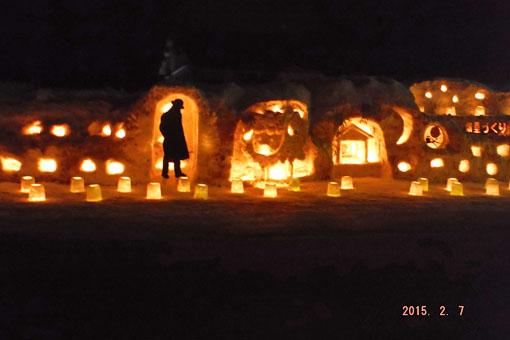 雪あかり2015_1