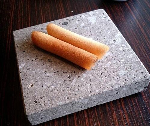 札幌軟石皿