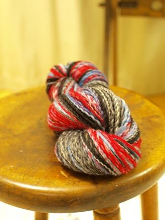セミ梳毛糸