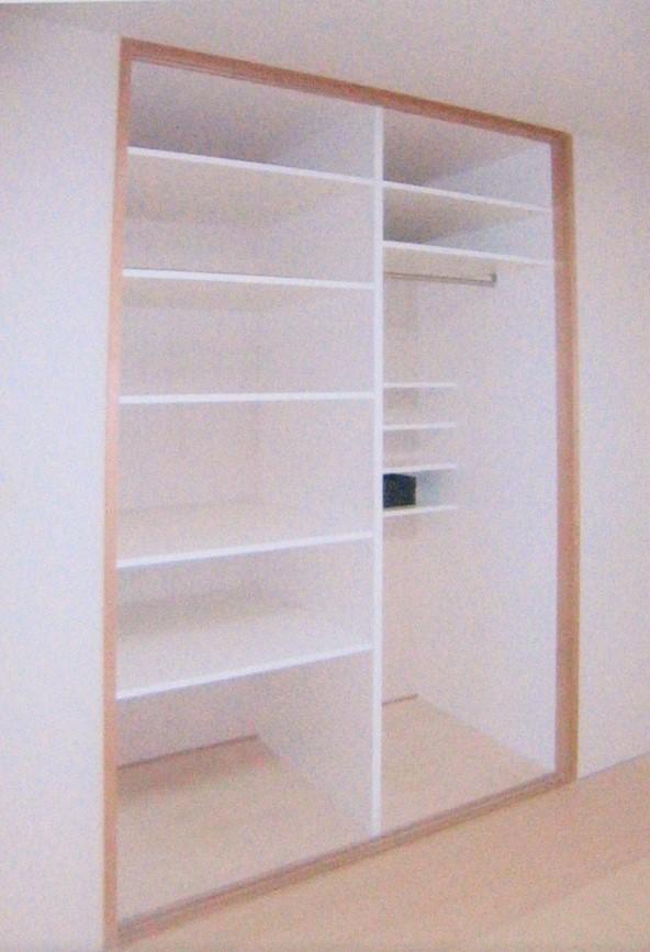 収納空間のリフォーム