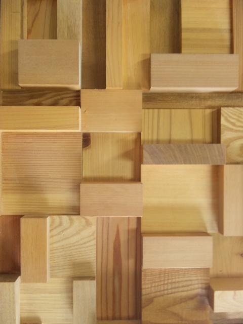 木工品 レリーフ コラージュ