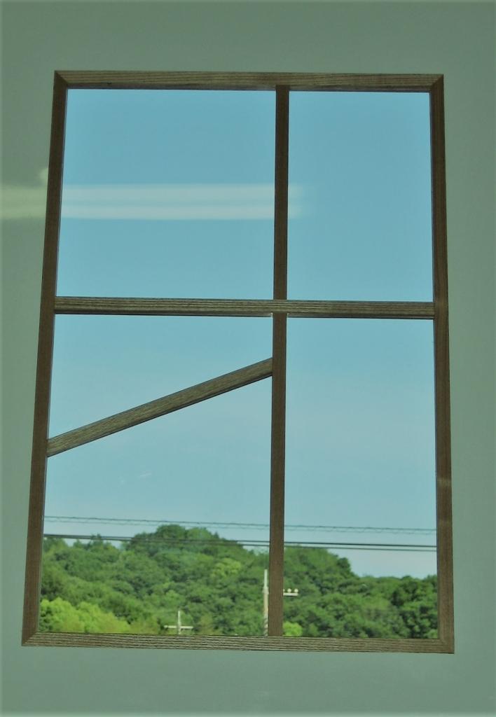 窓の桟 アクリル板 山下建具店