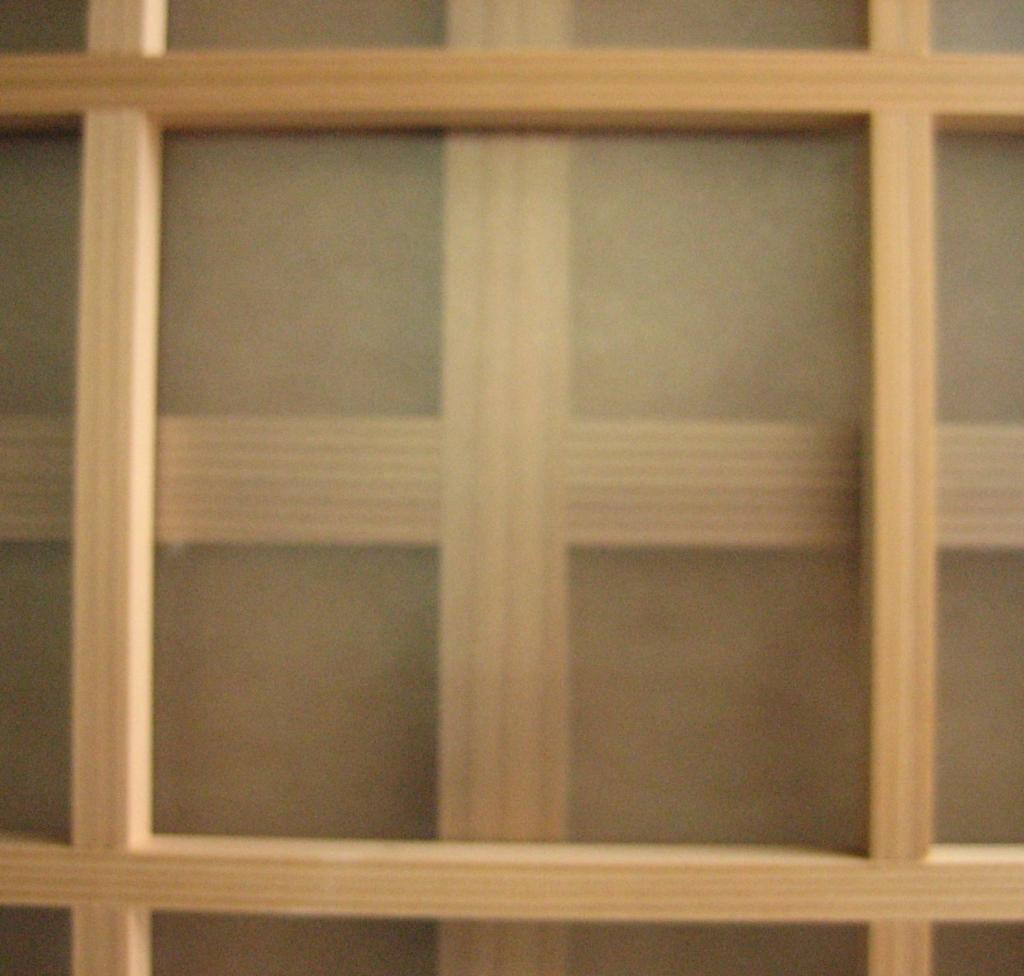 格子戸 ガラス入り 山下建具店