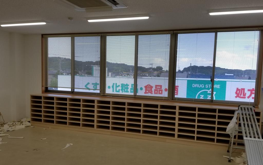 造作家具 窓下収納 山下建具店