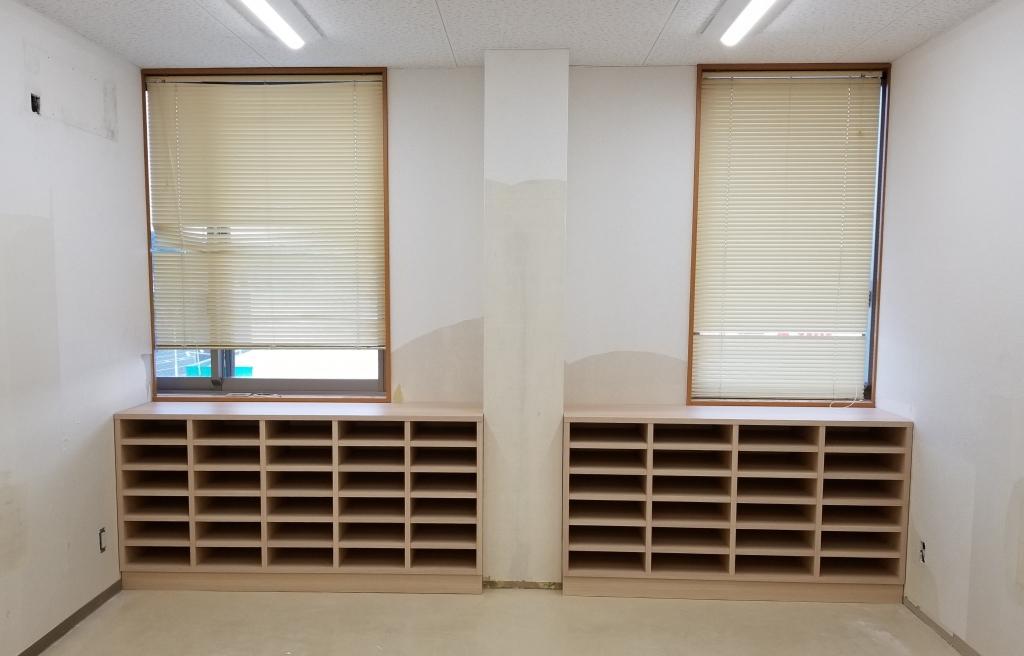 造作家具 書類棚 山下建具店