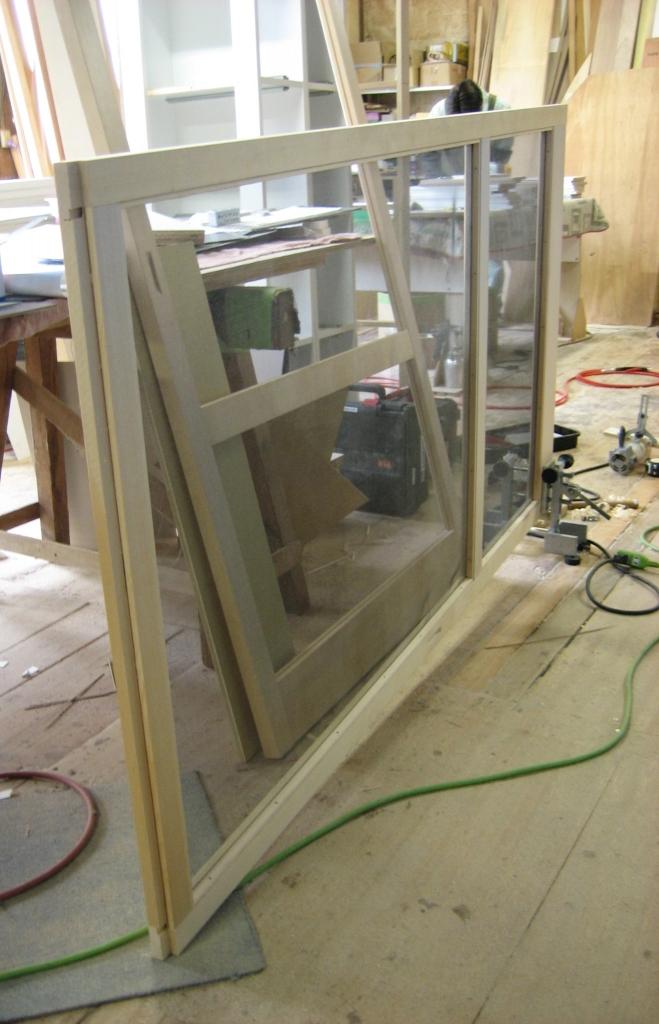 木製枠の網戸 建具 オーダーメイド 株式会社山下建具店