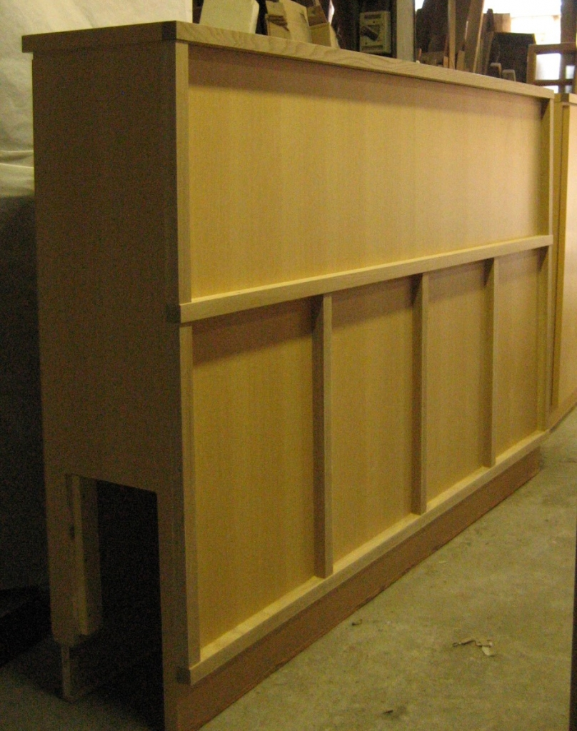 造作家具 木製&木目調カウンター 収納付き 株式会社山下建具店