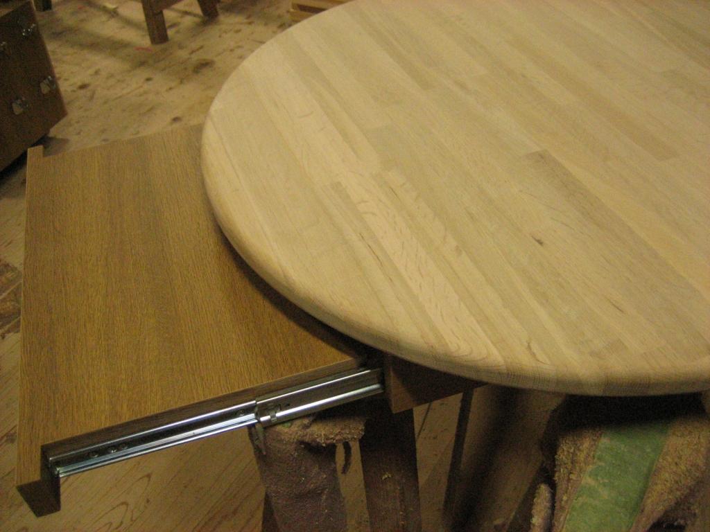 テーブル天板 スライド式天板付き 株式会社山下建具店