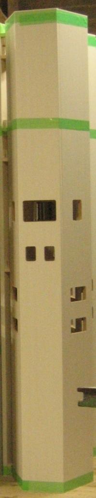 造作用中空柱 造作特注建具・家具 株式会社山下建具店