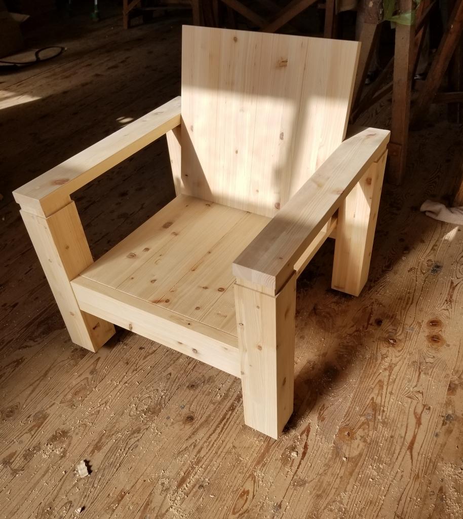 木製椅子 岡山県真庭産ひのき 株式会社山下建具店
