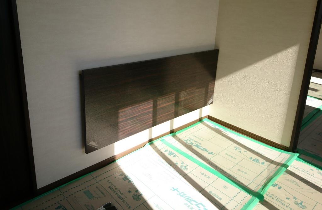 造作家具 壁付けフォールディング・テーブル 株式会社山下建具店