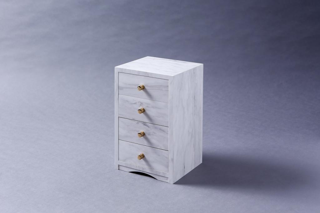 木工品 メラミン化粧貼り 宝石箱 小引き出し 株式会社山下建具店
