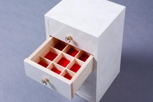 木工品 宝石箱 小引き出し 株式会社山下建具店